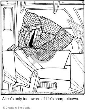 Comic Strip Jerry Van Amerongen  Ballard Street 2009-09-05 aware