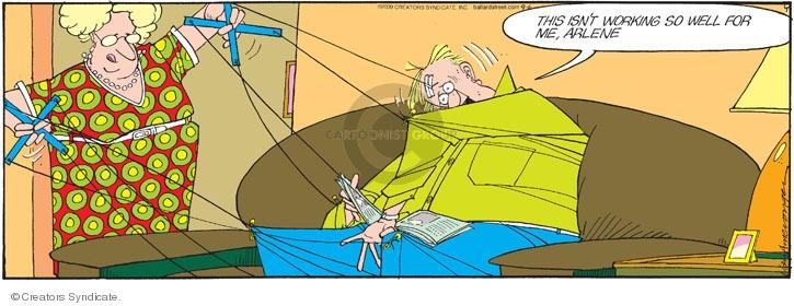 Comic Strip Jerry Van Amerongen  Ballard Street 2009-09-06 Arlene