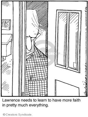 Comic Strip Jerry Van Amerongen  Ballard Street 2009-09-24 belief