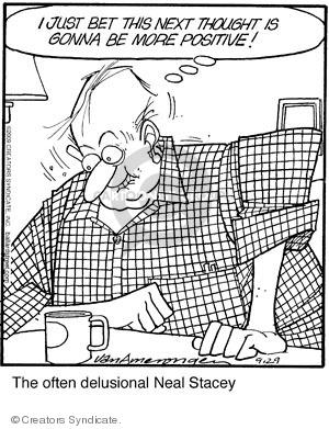 Comic Strip Jerry Van Amerongen  Ballard Street 2009-09-29 positive attitude