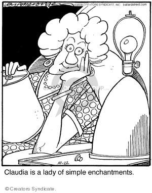 Comic Strip Jerry Van Amerongen  Ballard Street 2009-10-22 contentment