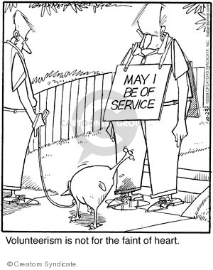 Comic Strip Jerry Van Amerongen  Ballard Street 2009-10-23 service dog