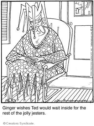 Comic Strip Jerry Van Amerongen  Ballard Street 2009-12-05 dressing