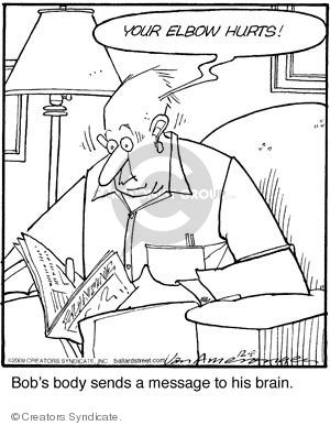 Comic Strip Jerry Van Amerongen  Ballard Street 2009-12-08 send