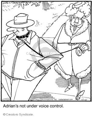 Comic Strip Jerry Van Amerongen  Ballard Street 2009-12-18 under