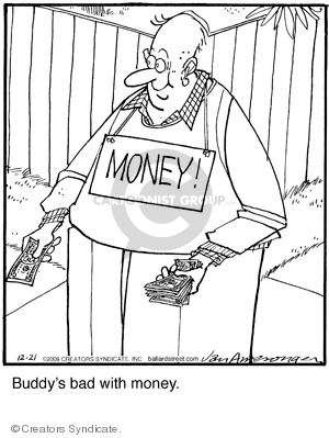 Comic Strip Jerry Van Amerongen  Ballard Street 2009-12-21 give