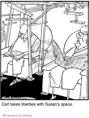 Comic Strip Jerry Van Amerongen  Ballard Street 2010-01-29 Susan
