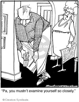 Comic Strip Jerry Van Amerongen  Ballard Street 2010-01-30 evaluation