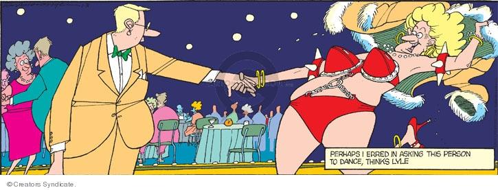 Comic Strip Jerry Van Amerongen  Ballard Street 2010-01-31 outfit
