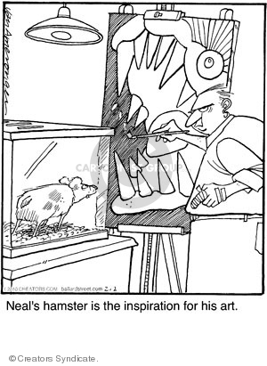 Cartoonist Jerry Van Amerongen  Ballard Street 2010-02-02 inspiration