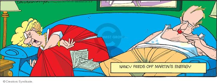 Comic Strip Jerry Van Amerongen  Ballard Street 2010-02-07 Martin