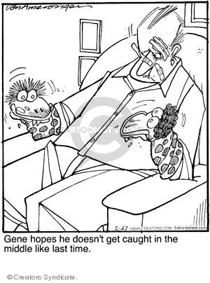 Comic Strip Jerry Van Amerongen  Ballard Street 2010-02-27 catch