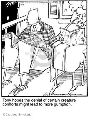 Comic Strip Jerry Van Amerongen  Ballard Street 2010-03-04 comfort