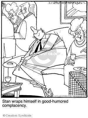 Comic Strip Jerry Van Amerongen  Ballard Street 2010-03-11 wrap