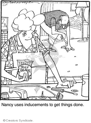Comic Strip Jerry Van Amerongen  Ballard Street 2010-03-23 psychology