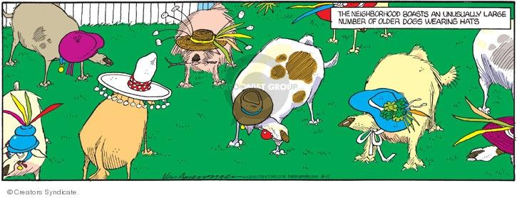 Comic Strip Jerry Van Amerongen  Ballard Street 2010-04-11 number