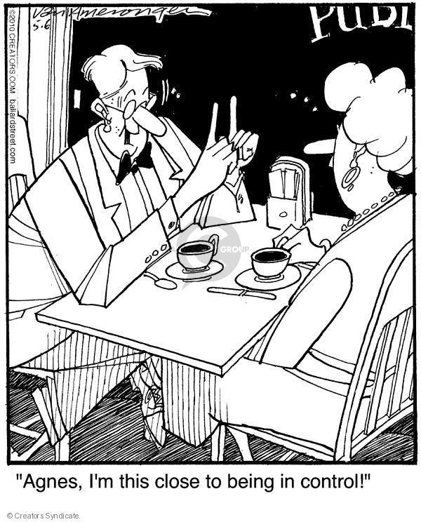 Comic Strip Jerry Van Amerongen  Ballard Street 2010-05-06 authoritative