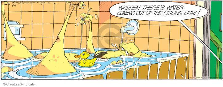 Comic Strip Jerry Van Amerongen  Ballard Street 2010-05-09 duck