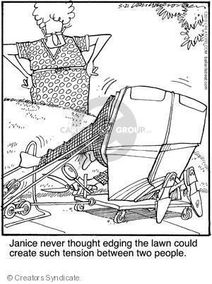 Comic Strip Jerry Van Amerongen  Ballard Street 2010-05-21 edge