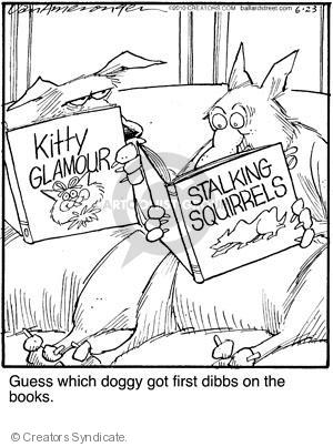Cartoonist Jerry Van Amerongen  Ballard Street 2010-06-23 dog