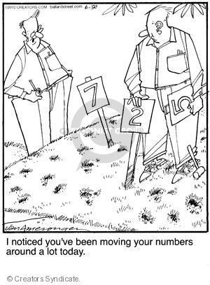 Comic Strip Jerry Van Amerongen  Ballard Street 2010-06-30 number