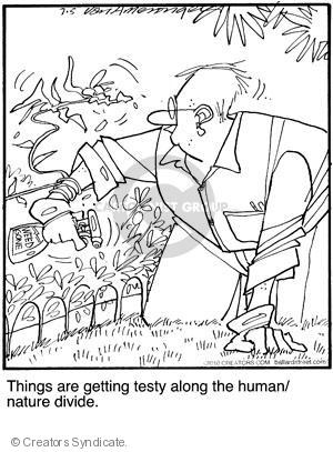 Comic Strip Jerry Van Amerongen  Ballard Street 2010-07-05 human