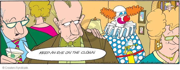 Comic Strip Jerry Van Amerongen  Ballard Street 2010-07-18 distrust