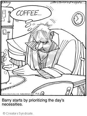 Comic Strip Jerry Van Amerongen  Ballard Street 2010-07-16 importance