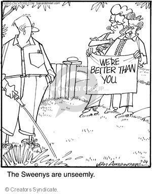 Comic Strip Jerry Van Amerongen  Ballard Street 2010-07-24 status
