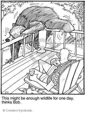 Comic Strip Jerry Van Amerongen  Ballard Street 2010-08-02 wildlife