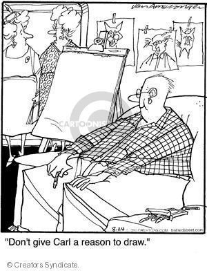 Comic Strip Jerry Van Amerongen  Ballard Street 2010-08-24 give