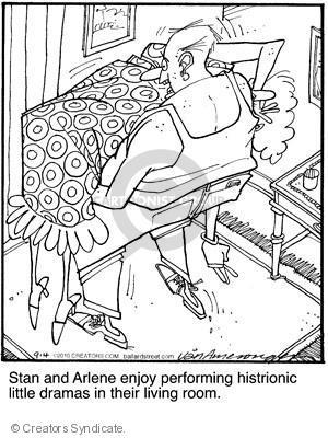 Comic Strip Jerry Van Amerongen  Ballard Street 2010-09-04 Arlene
