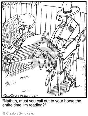 Comic Strip Jerry Van Amerongen  Ballard Street 2010-09-15 must