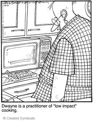 Comic Strip Jerry Van Amerongen  Ballard Street 2010-10-02 cooking