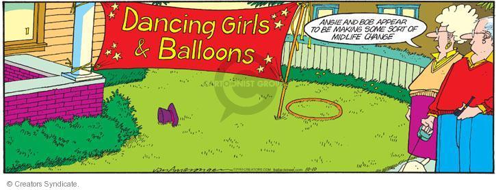 Comic Strip Jerry Van Amerongen  Ballard Street 2010-10-10 girl