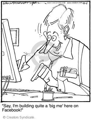 Comic Strip Jerry Van Amerongen  Ballard Street 2010-10-05 Facebook