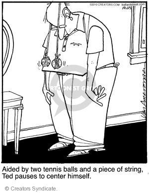 Comic Strip Jerry Van Amerongen  Ballard Street 2010-10-23 pause