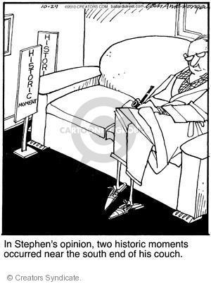 Comic Strip Jerry Van Amerongen  Ballard Street 2010-10-29 importance