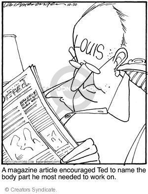 Comic Strip Jerry Van Amerongen  Ballard Street 2010-10-30 advice