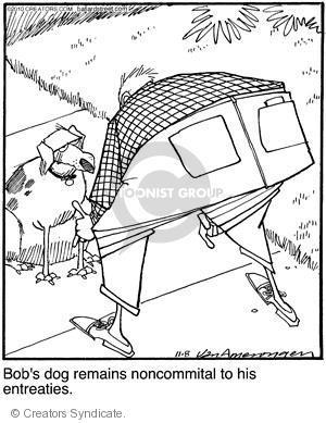 Cartoonist Jerry Van Amerongen  Ballard Street 2010-11-08 dog training