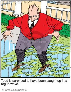 Comic Strip Jerry Van Amerongen  Ballard Street 2010-11-20 catch