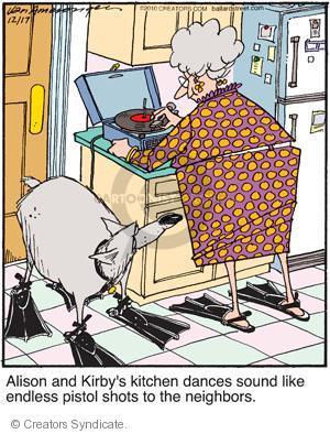 Comic Strip Jerry Van Amerongen  Ballard Street 2010-12-17 Alison