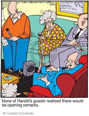 Comic Strip Jerry Van Amerongen  Ballard Street 2010-12-24 speaker