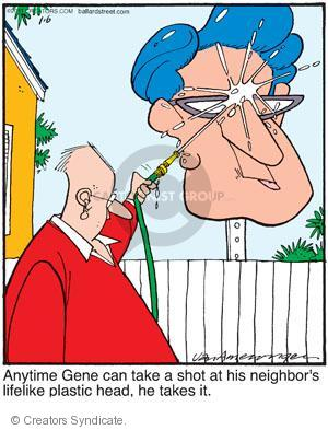 Comic Strip Jerry Van Amerongen  Ballard Street 2011-01-06 animosity