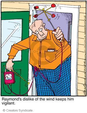Comic Strip Jerry Van Amerongen  Ballard Street 2011-01-13 dislike