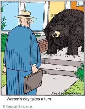 Comic Strip Jerry Van Amerongen  Ballard Street 2011-01-17 wildlife