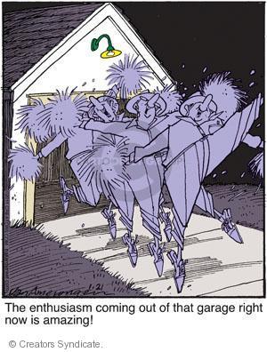 Comic Strip Jerry Van Amerongen  Ballard Street 2011-01-21 exuberant