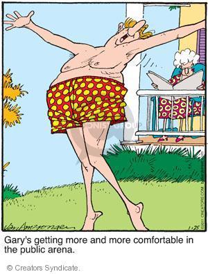 Comic Strip Jerry Van Amerongen  Ballard Street 2011-01-25 comfort
