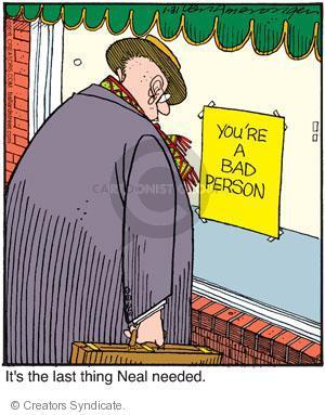 Comic Strip Jerry Van Amerongen  Ballard Street 2011-01-31 self-esteem