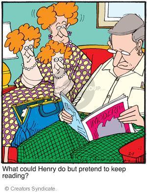 Comic Strip Jerry Van Amerongen  Ballard Street 2011-02-01 puppet